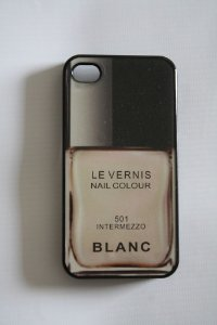 Capa iPhone 4 Chanel Le Vernis Blanc