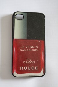 Capa iPhone 4 Chanel Le Vernis Rouge