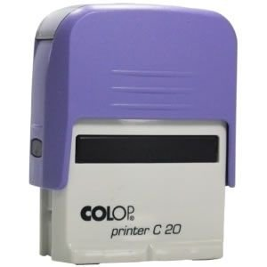 Carimbo Personalizado Colop Printer 20 - Lilás