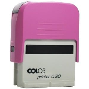 Carimbo Personalizado Colop Printer 20 - Rosa