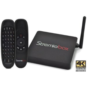 Receptor OTT Android TV StremioBox 4K Ultra HD Hardware Decoding