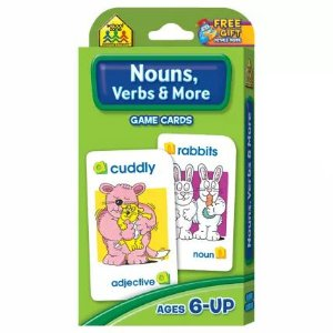 NOUNS, VERBS & MORE - GAME CARDS
