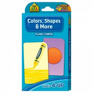 COLORS, SHAPES & MORE - FLASH CARDS