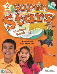SUPER STARS 2 STUDENT BOOK COM MULTIROM PACK