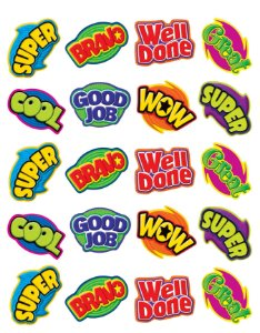ADESIVO PARA PROFESSOR: POSITIVE WORD STICKERS (TCR 5206)