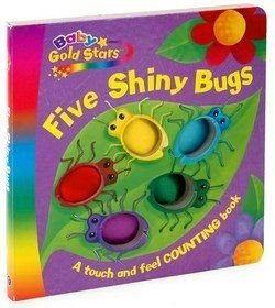FIVE SHINY BUGS