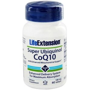 Super Ubiquinol CoQ10 com PQQ, Life Extension, 100mg