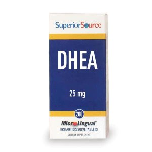 DHEA Sublingual, Superior Source 25 mg - 200 Tabs