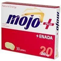 NADH Mojo Plus + Enada, Co - E1, 20 mg, 30 Tablets
