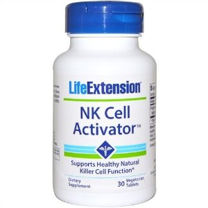 NK Cell Activator(Natural Killer Ativador Celular), Life Extension, 30 Veggie Tabs