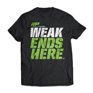 Musclepharm - Camiseta Weak Ends Here
