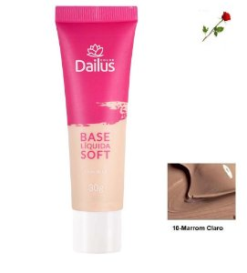 Base Matte Soft Dailus 10 Marrom Claro
