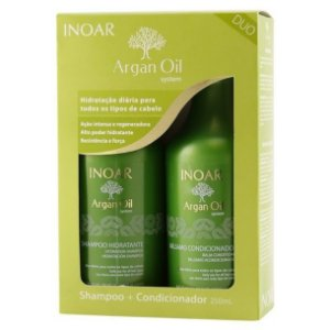 Inoar - Argan Oil Kit Shampoo 250ml e Condicionador 250ml