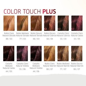 Wella - Color Touch Plus 55/05, 55/07, 66/03, 66/04, 77/07, 88/03, 88/07