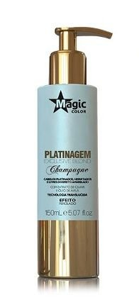 Magic Color - Platinagem Exclusive Blond Champagne Efeito Perolado 150ml