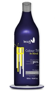 Leads Care - Colour TV Be Blond Shampoo Matizador 500ml