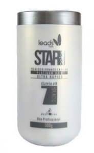 Leads Care - Star Color Hair Pó Descolorante Ultra Rápido 500g