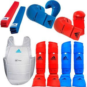 Kit Adidas Karate Kumite II