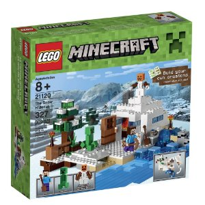 21120 O Esconderijo da Neve - LEGO® Minecraft Creative Adventure