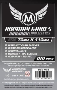 "Sleeves Mayday""Lost Cities"" Card Sleeves - Magnum Ultra-Fit (70x110mm) - Standard Protection (Com 100 protetores de cartas)"