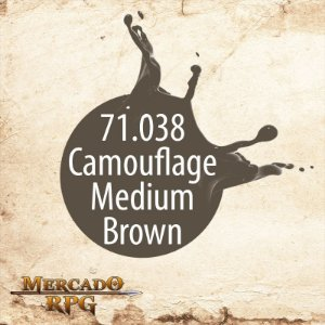 Camouflage Medium Brown 71.038