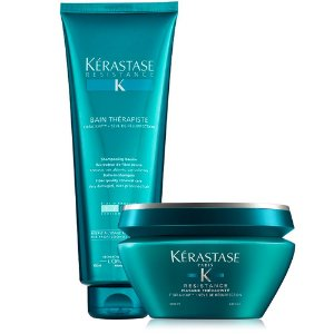 Kérastase Resistance Therapiste Kit Bain 450ml + Masque 200g