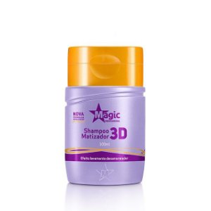 Magic Color Shampoo Matizador 3D Levemente Desamarelador - 100ml