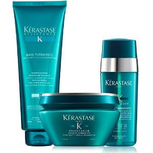 Kérastase Résistance Therapiste Kit Bain 450ml + Masque 200g + Sérum 30ml