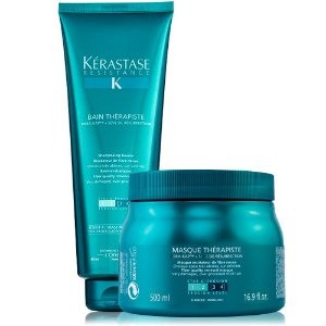 Kérastase Résistance Therapiste Kit Bain 450ml + Masque 500g