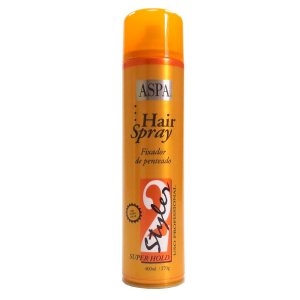 Aspa Styler 2 Hair Spray Fixador Super Hold - 400ml