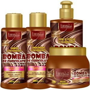 .Kit Bomba Chocolate Forever liss (P)