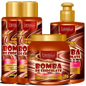 .Kit Bomba Chocolate Forever liss (G)