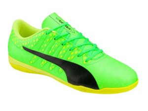 Chuteira Indoor Evopower Vigor 4 IT adulto - verde