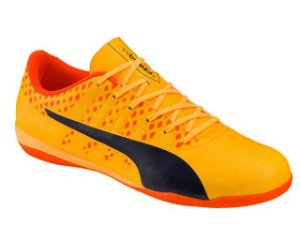 Chuteira Indoor Evopower Vigor 4 It Adulto - Amarelo