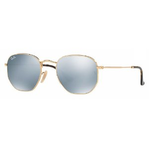 Ray-Ban RB3548 001/30 51 Hexagonal - Gold/Silver Flash