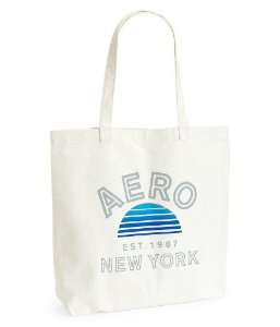 Bolsa Aeropostale Women's Aero New York Sunset Tote BRANCA