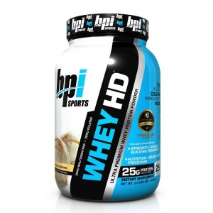 Whey HD BPI Sports Vanilla Caramel 907g