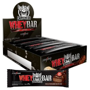 Whey Bar Darkness Integralmédica 8 Unidades