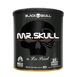 Mr. Skull Black Skull 22 Packs