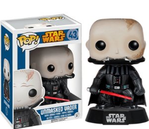 Funko POP! Darth Vader Unmasked (Sem Máscara) - Star Wars