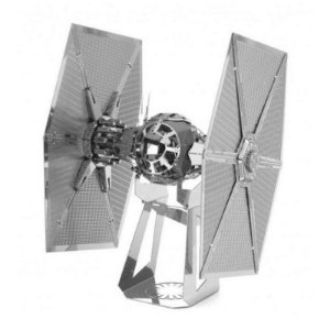 TIE fighter Star Wars - 3D Metal Model - Quebra Cabeça 3D