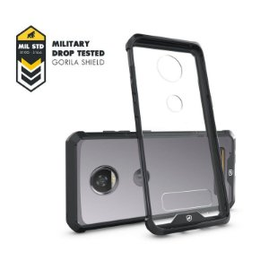 Capa Ultra Slim Air Preta para MOTO Z2 Play - Gorila Shield