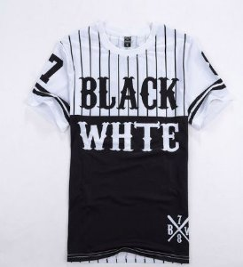 Baseball TSHIRT - BLACK|WHITE