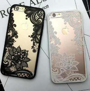 Capinha Iphone - Renda Gold
