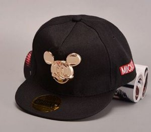 Boné Snapback - Black Mickey GOLD