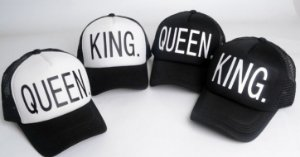 Boné Snapback - KING and QUEEN