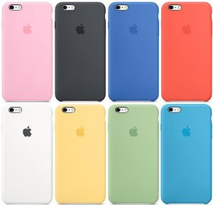 Capinha Original iPhone APPLE - Diversas CORES