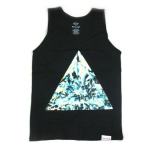 Regata - Diamond Supply ( Preta e Branca )