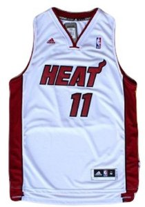 Regata - Miami HEAT NBA Adidas Basquete BRANCA