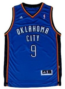 Regata - OKLAHOMA CITY NBA Adidas Basquete